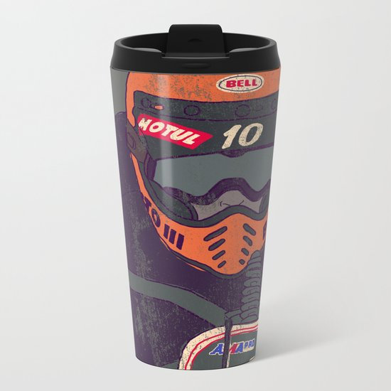 race shit Metal Travel Mug