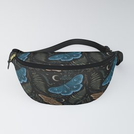 Moths and Ferns Fanny Pack
