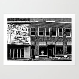 Cabot Street Cinema Art Print