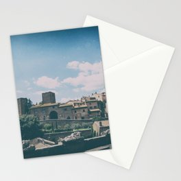 Tuscania medieval village in summer Stationery Cards