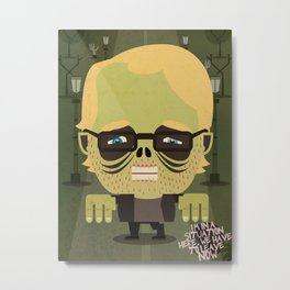 Philip Seymour Hoffman tribute Metal Print