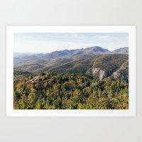 Early Autumn in the Adirondacks  Art Print