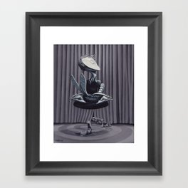 Liberation, With String Framed Art Print