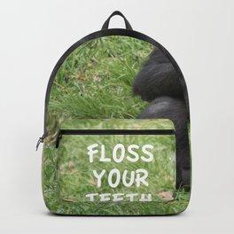 Floss Your Teeth Backpack