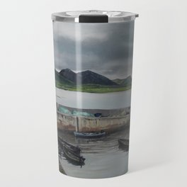 Roundstone Harbour, Connemara, Gallway, Ireland Travel Mug