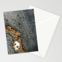 Gold Inlay Marble Stationery Cards
