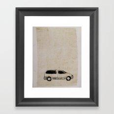 mini van Framed Art Print