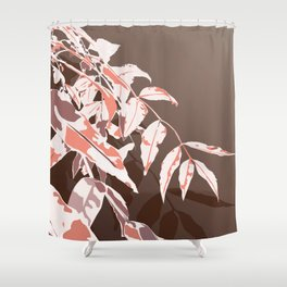 Autumn vibes leaves Shower Curtain