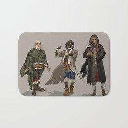 Three Wizards of the Black Company Bath Mat