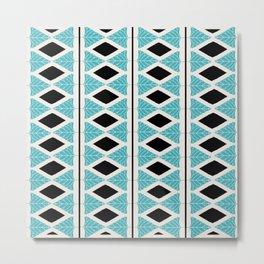 Midcentury Modern Pattern Metal Print