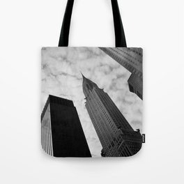NY clouds Tote Bag