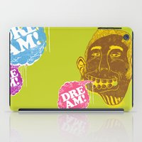 dreamer iPad Cases featuring Dreamer by Oga Mendonça