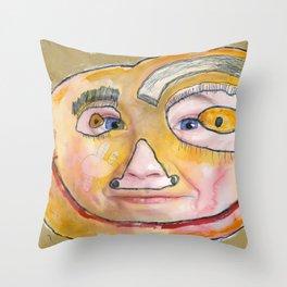 I feel loved Throw Pillow
