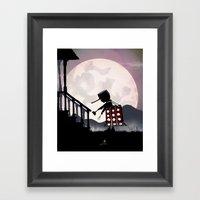 Dalek Kid Framed Art Print