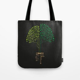 Technology Tree Tote Bag