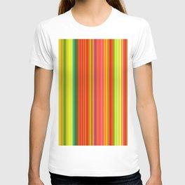 Rainbow Glowing Stripes T-shirt