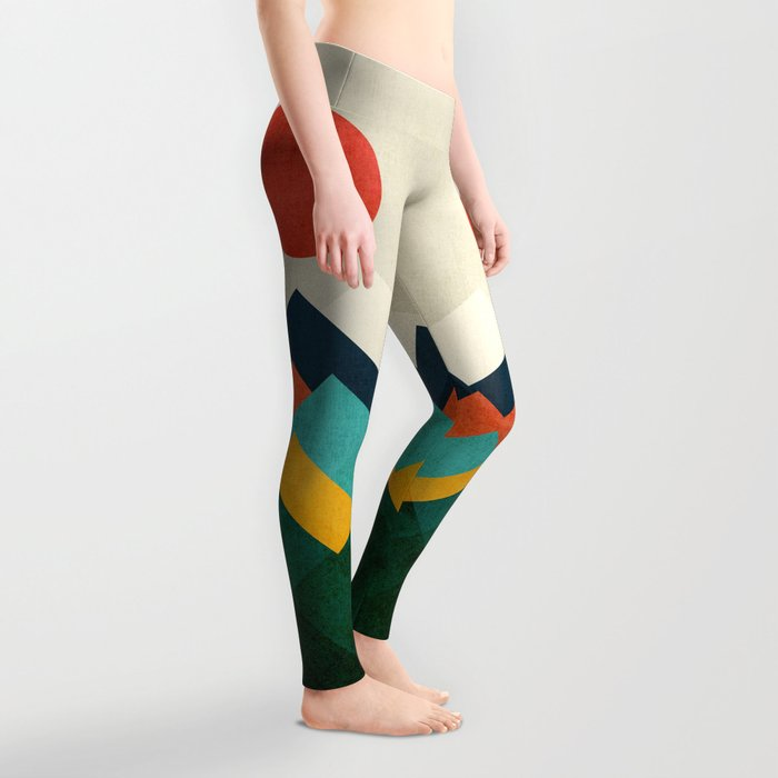 The hills are alive Leggings