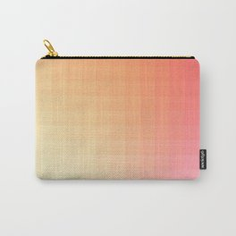 Lumen, Pink and Orange Light Carry-All Pouch