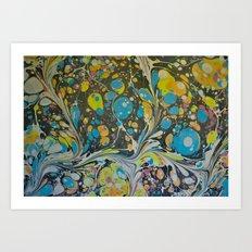 Marble Print #9 Art Print