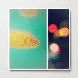the fish bowl diaries Metal Print