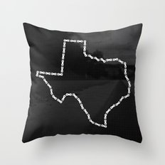 Ride Statewide - Texas Throw Pillow