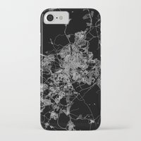 real madrid iPhone & iPod Cases featuring Madrid by Line Line Lines