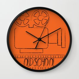 Video Camera - OLDSCHOOL Wall Clock