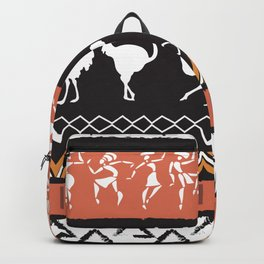 African Tribal Pattern No. 69 Backpack