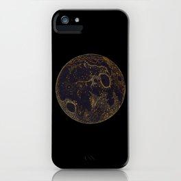 The Golden Moon iPhone Case