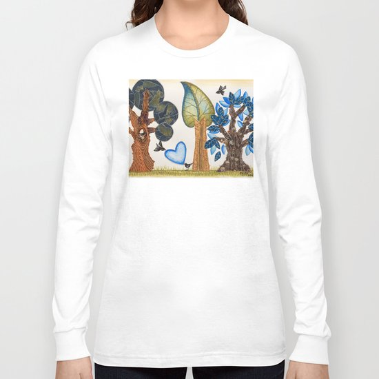 Birds in love Long Sleeve T-shirt