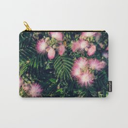 Mimosa Tree Floral Pattern   Photography   Tropical   Pink aesthetic Carry-All Pouch