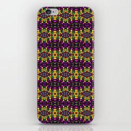 Yellow And Purple Mosaic iPhone Skin