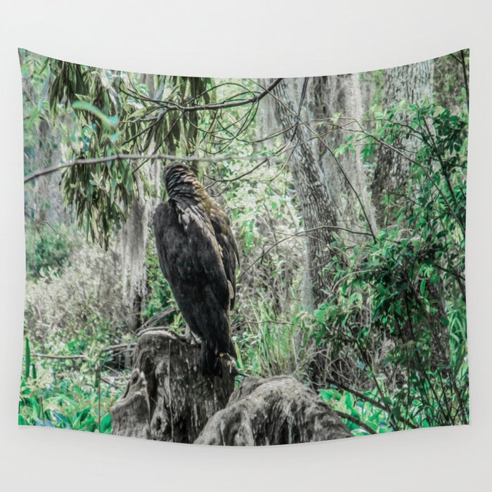 Looking for New Prey Wall Tapestry