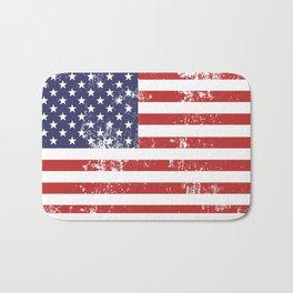 Handmade in America Rubber Stamp Bath Mat