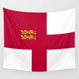 Sark flag emblem Wall Tapestry