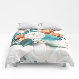 Floral beauty 2a Comforters