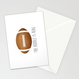 The Huddle Is Real Stationery Cards