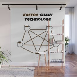 Coffee-chain Technology Wall Mural