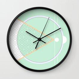 Geometric Calendar - Day 4 Wall Clock