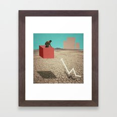 Geo_Metric Framed Art Print