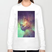camouflage Long Sleeve T-shirts featuring Camouflage by Anna Dittmann