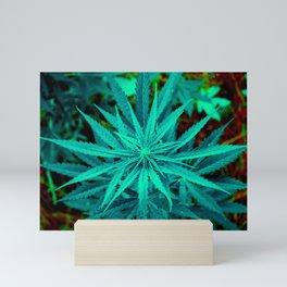 Twisted Frosty Weed Mini Art Print