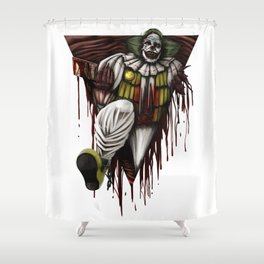 Halloween Horror Clown Scary Monster Costume Gift Shower Curtain