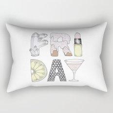 Friday Rectangular Pillow