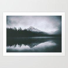 Mount Hood X Art Print