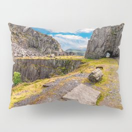 Dinorwic Slate Quarry Snowdonia Pillow Sham