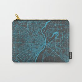 Saint Louis Map Carry-All Pouch