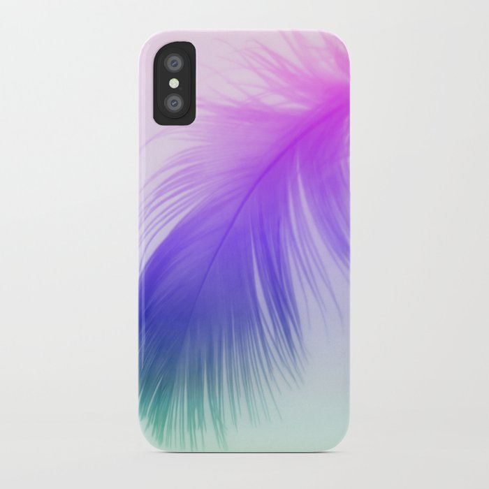 Painted Feather iPhone Case