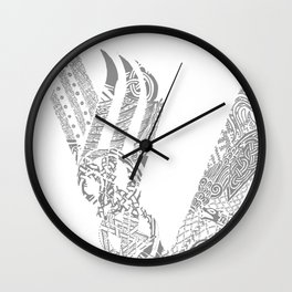 Vikings Wall Clock