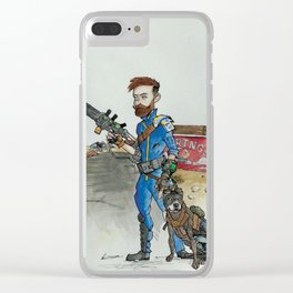 Partners Clear iPhone Case